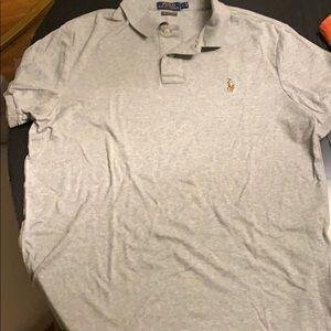 Men's Large Polo Ralph Lauren Pima Soft Touch Polo